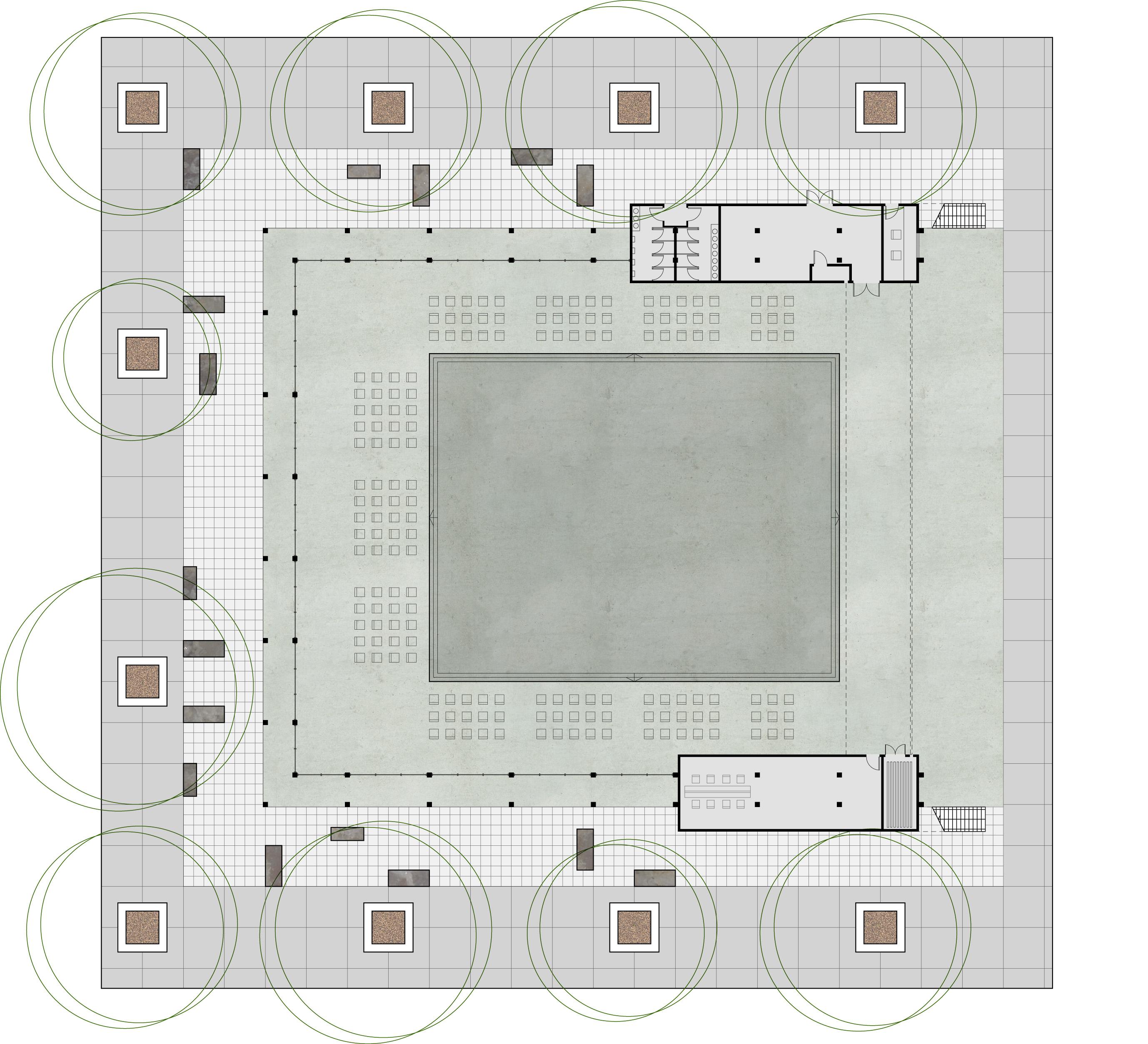 ground level plan 080503 1 200
